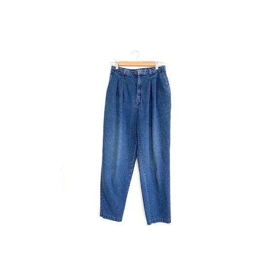80s vintage Levis pleated denim jeans