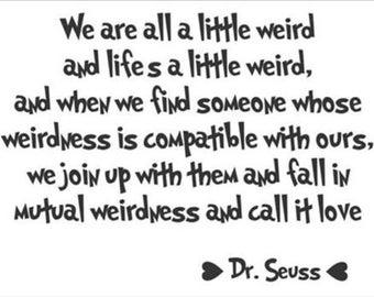 All A Little Weird Etsy