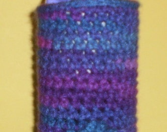 Purple Ombre Water Bottle Cozy