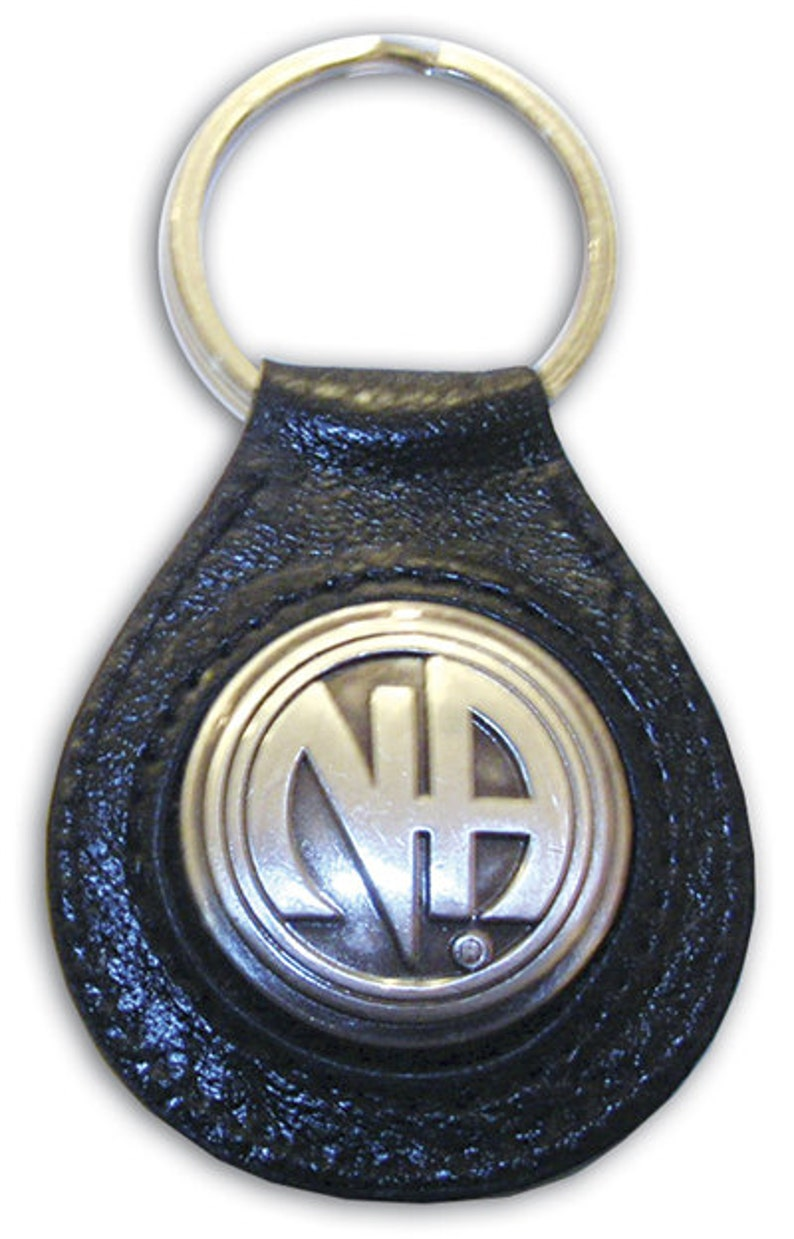 Leather N.A. Key Ring: image 0