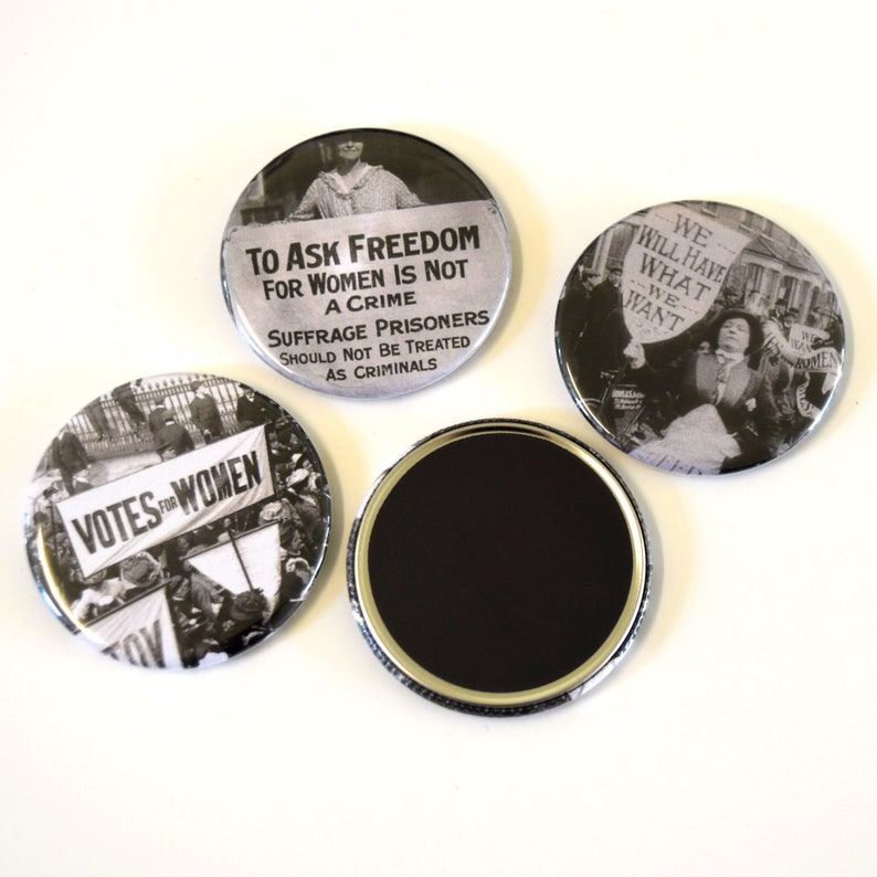 Suffragettes Feminist Fridge Magnets
