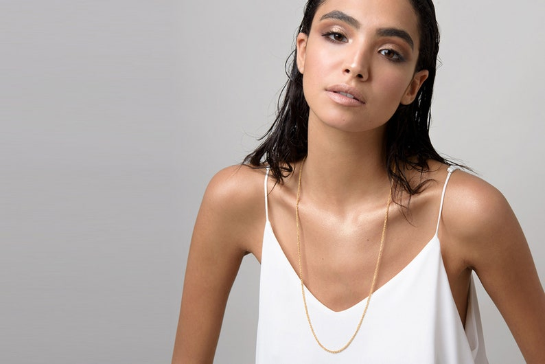 Unique Delicate Handmade Gold filled Set for her
