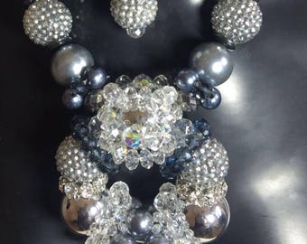 Silver Torus Collection Necklace Sample Sale