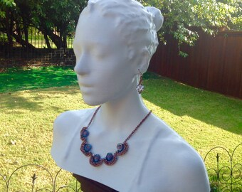 3D Printed Jewelry Display-Jewelry Display-Display-Necklace Display-3D Printed-craft show display-Necklace Holder-Earring Display