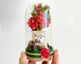 Custom Photos Christmas Gift, Christmas Custom Gift, Christmas Decoration, Personalization Photo, Dome, Christmas Favors, Favors For Guest