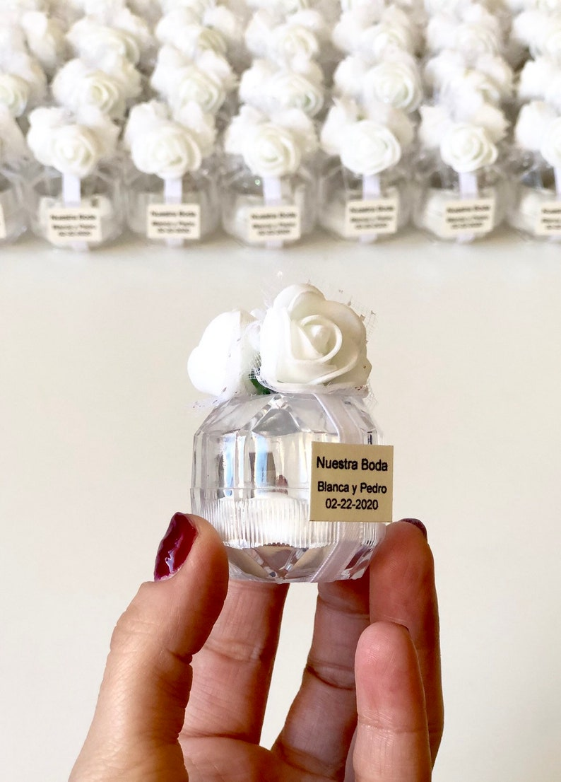 Party favors 10 pcs Wedding favors Wedding favors for guests Save the date Baby shower Favors Clear boxes Favors boxes Custom favors
