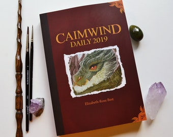 Caimwind 2019 Art Collection - 365 gouache paintings and short stories