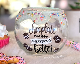 Teacher Candy Jar Etsy