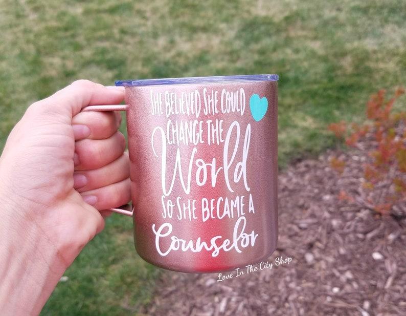 Counselor mug social worker mug custom counselor social image 0