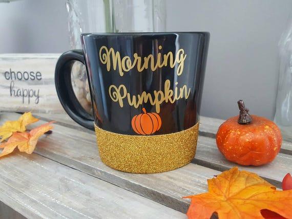 Kürbisbecher Morgenkürbis Guten Morgen Kürbis Herbstbecher Halloween Becher Kürbis Kaffeetasse Hallo Kürbis Halloween Kaffeetasse