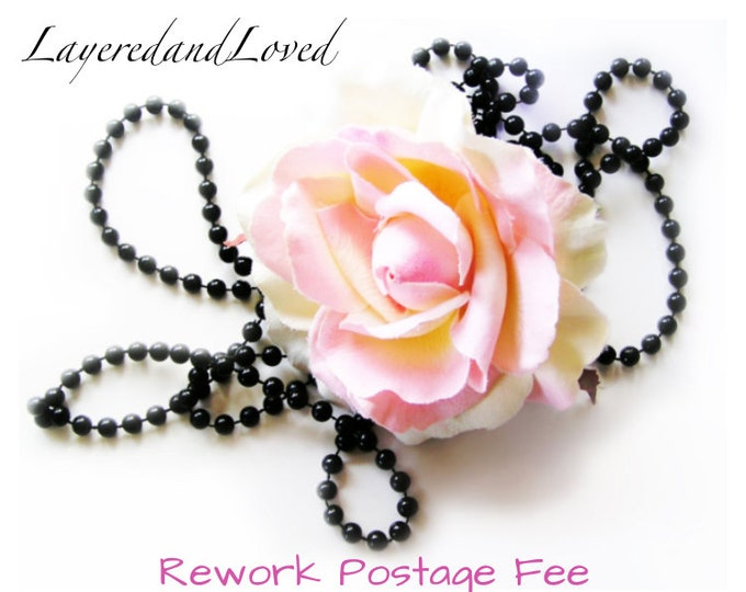 Postage Fee For Rework / Add On / Ala Carte