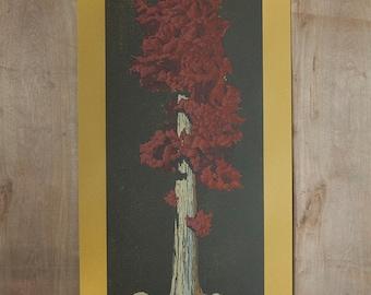 Tree Portrait 005 - Hand Drawn Screen Print