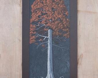 Tree Portrait 006 - Silk Screen Print