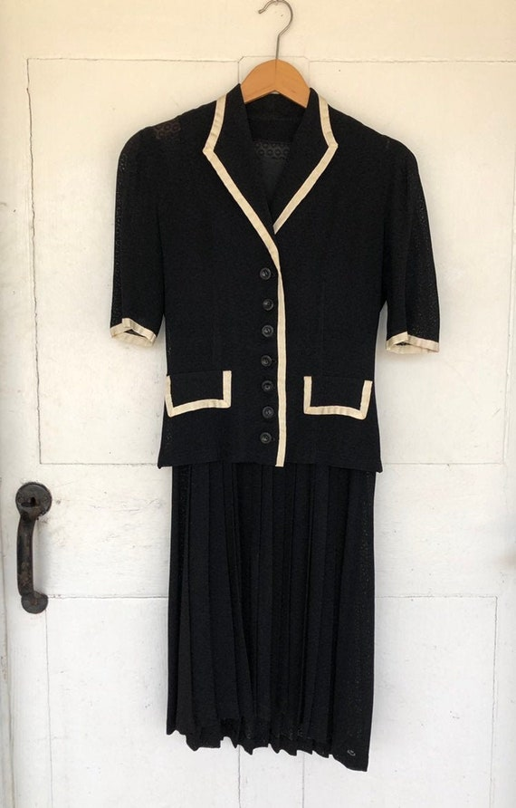 Amazing 1940s Dress Set