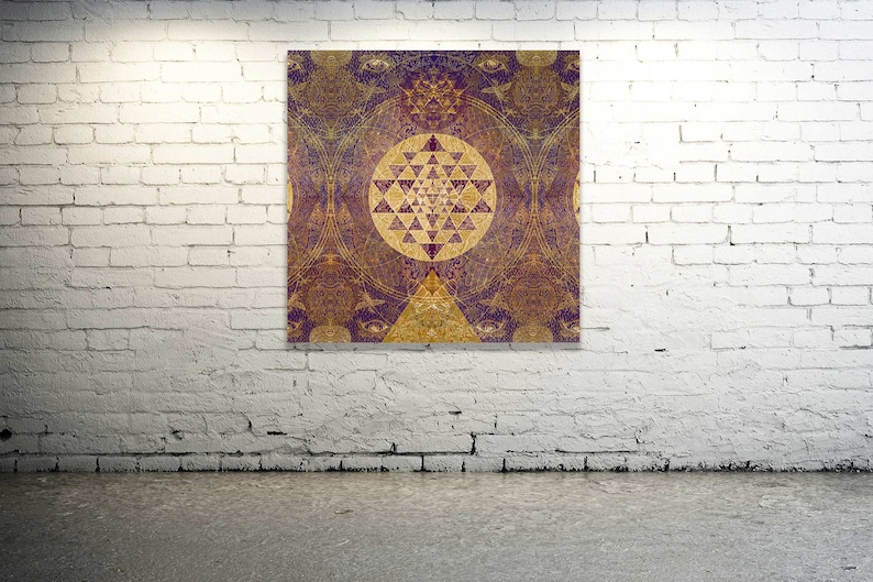 SatNam SRI Alchemy  Original Painted Artprint Energised  on image 0