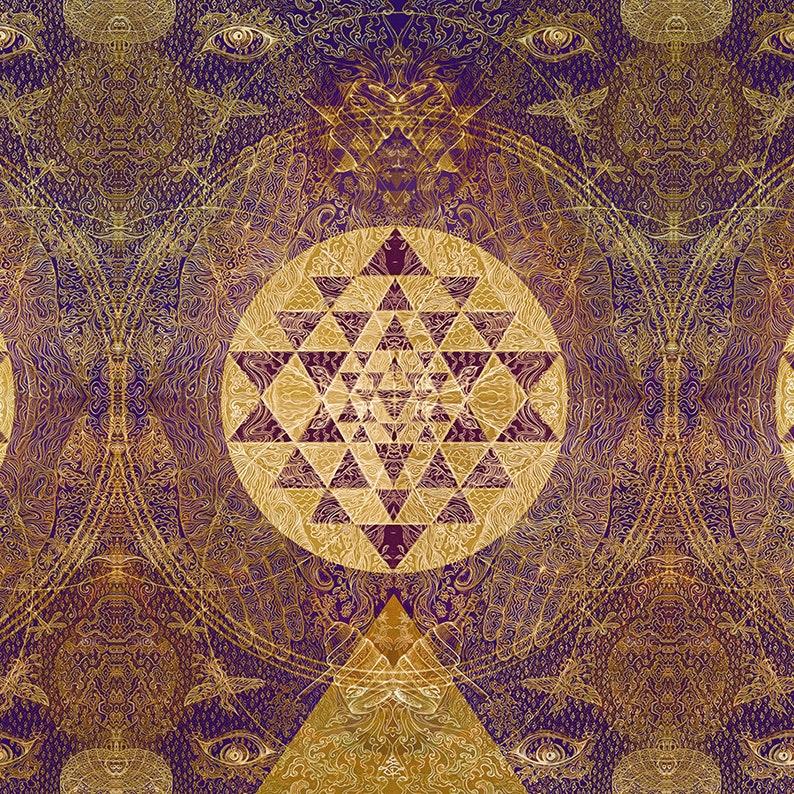 SatNam SRI Alchemy  Original painted Artprint Energised  on image 0