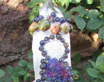 Crystals Minerals Bracelets Malas Singing by