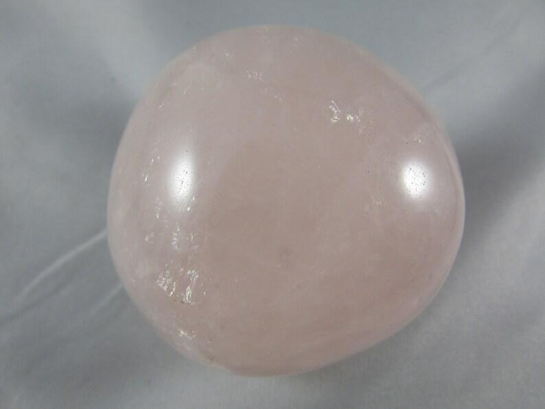 Rose Quartz Palmstone Natural Spiritual Meditation Energy Healing Pink Quartz for Home or Office Decor