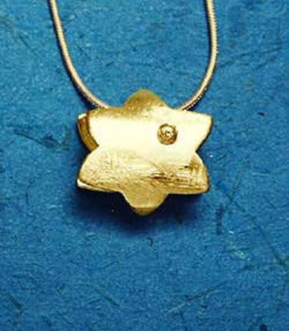 Israel Birthday NecklacesIsrael 14k Gold HandmadeIsrael