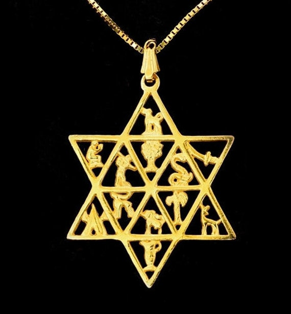 12 Tribes Of Israel12 Tribes Star Of David12 Tribes Etsy