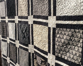 """Simple Layer Cake Quilt pattern (full 81"""" X 94"""") (twin 60""""X94"""")(king/queen 99""""X114"""")"""