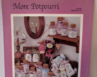 More Potpourri, Counted CrossStitch Leaflet #19