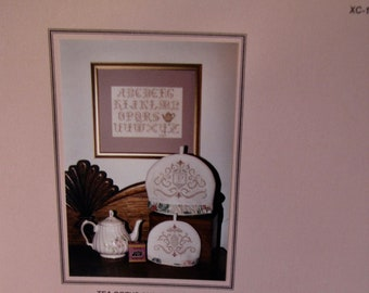 "In a Gentle Fashion ""Tea Cozys and Sampler"" by Linda Palmer Counted CrossStitch"