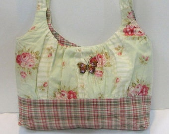 Butterfly Gathered Bag, Custom-Made