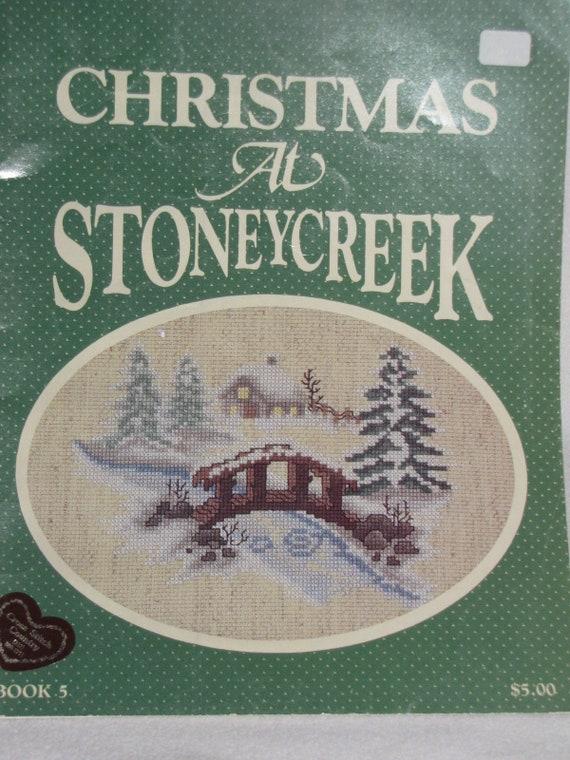 StoneyCreek/'s Christmas at StoneyCreek counted cross stitch book #5