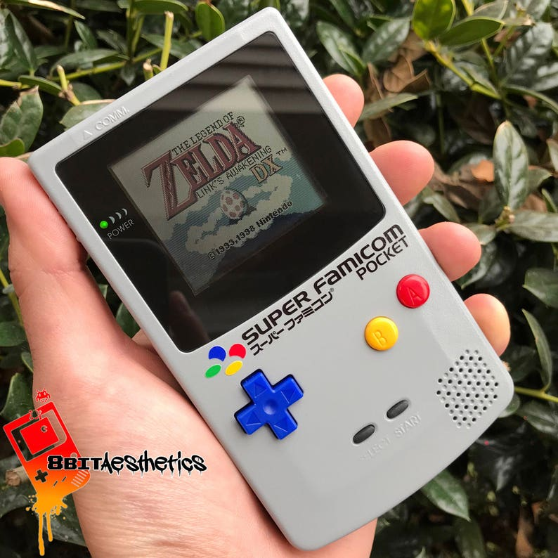 7a5e2acfe73f9 Custom Frontlit Nintendo Gameboy Color Super Famicom for Retro