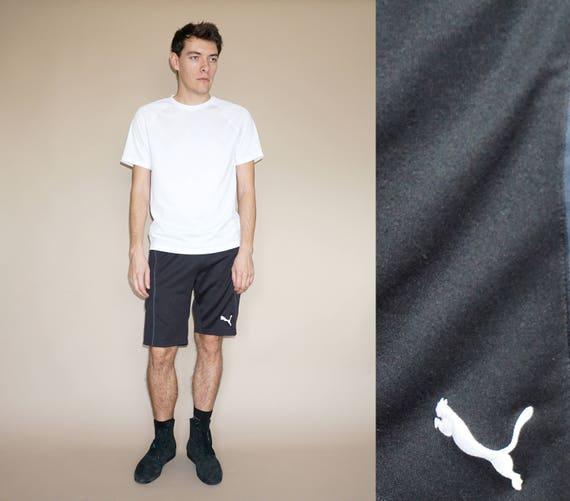 Men's Puma black boxing shorts