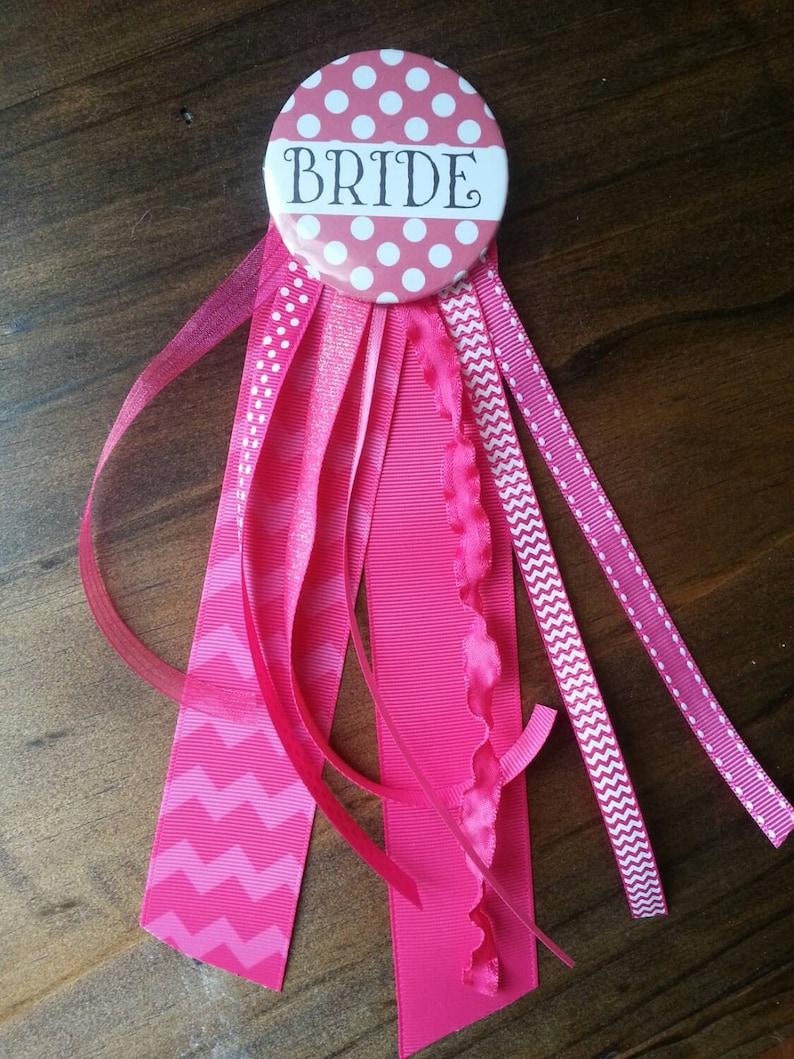 c555adba50 Bride, Bride Pin, Bride Button, Bridesmaid Pin, Team Bride Pins, Hen Night,  Bachelorette Party, Engagement, Bride Accessory, Wedding Pin