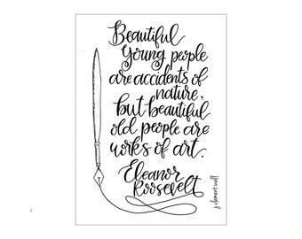 Eleanor Roosevelt birthday card
