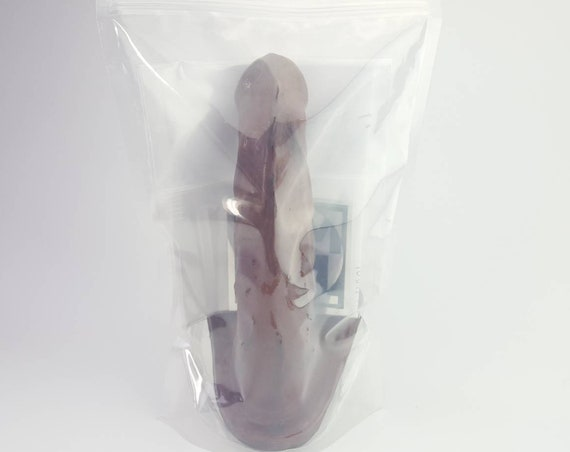 BJ Dildo #1019-Hand Painted Silicone-Mature-Adult Toy-Designed to Suck