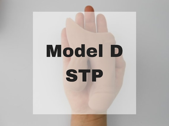 Model D STP - Platinum Silicone - FTM - Mature - Prosthetic - Transgender