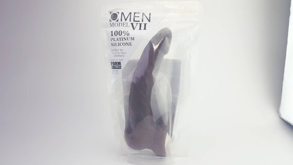 OMEN VII Dildo #1003-Hand Painted Silicone-Mature-Adult Toy