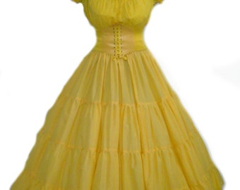 Belle Cospaly Costume Beauty and the Beast Disney Halloween Costume Adult Yellow Free Ship Priority  sc 1 st  Etsy & Adult belle costume | Etsy
