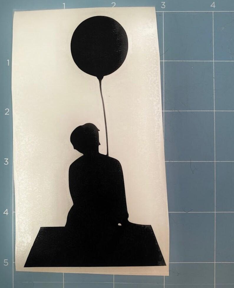 Serendipity Vinyl Decal 3 in x 5 in