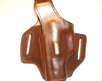 Leather CCW Holster  1911 .45 ACP, Five inch Barrel Right Hand