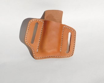Leather Ammo Magazine Holder for Single-Stack .45 Automatic
