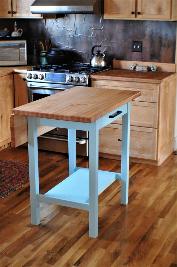 Drop Leaf Kitchen Island Etsy