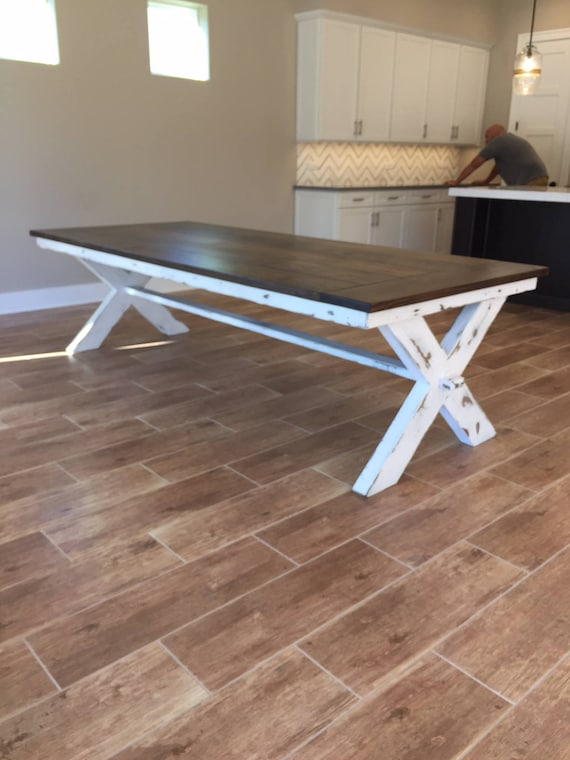 Cross Leg Dining Table Etsy