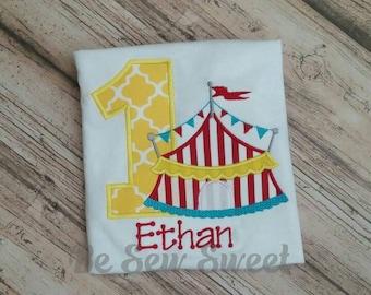 Circus or carnival themed birthday Shirt