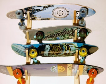 15c8812d Skateboard Wall Rack for 4 boards, Free Shipping