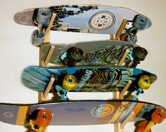 Skateboard Wall Rack For 4 Boards
