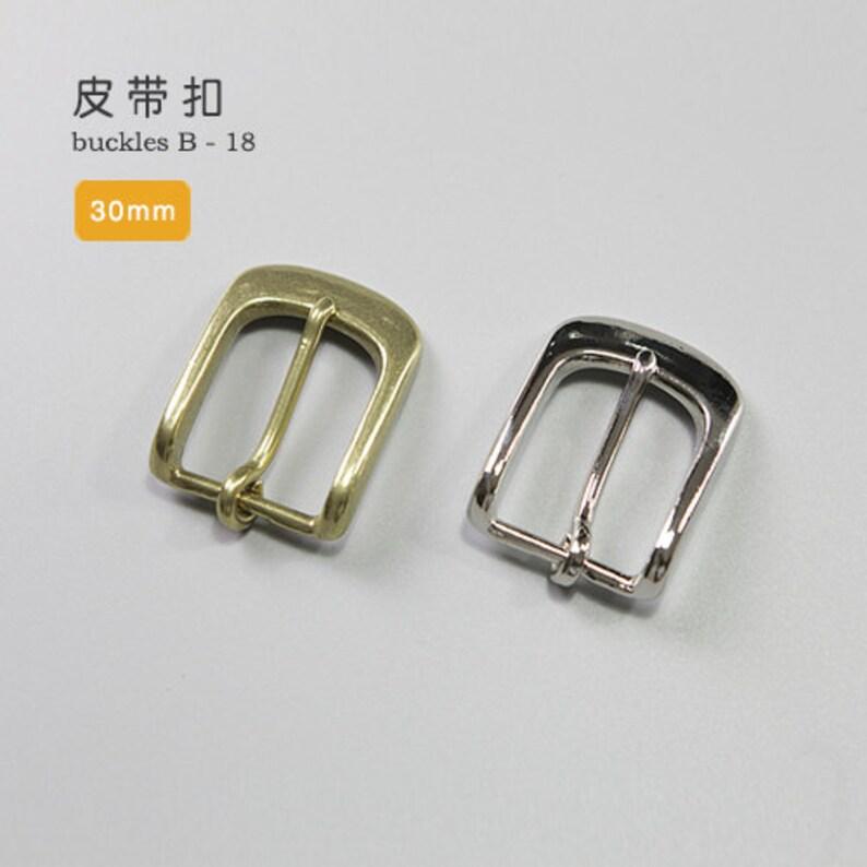 c04f9e6cff0731 30mm in ottone massiccio fibbie nichel finitura cintura Seiwa
