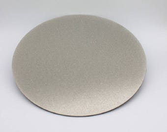 """8"""" 1200GritDiamond Lapidary and Glass Full Face Flat Lap and Disc"""