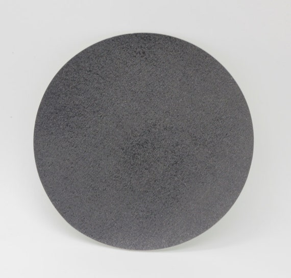 "6/"" 1200Grit Diamond Resin Lapidary Glass Sanding Smoothing Pad  no backing"