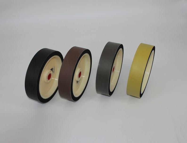 8x1x1-12 280 600 1200 3000Grit Lapidary Glass Grinder Polisher Nova Type Diamond Flexible  Resin Soft Grinding Wheel