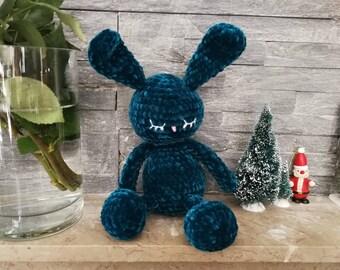 Amigurumi Kawaii rabbit with crochet small sailor